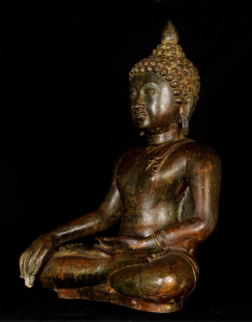 18th Century Chiang Saen Enlightenment Buddha - 2