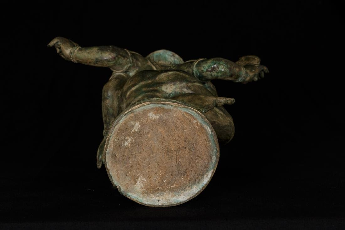 19th Century Standing Chola Style Bronze Ganesha - 4