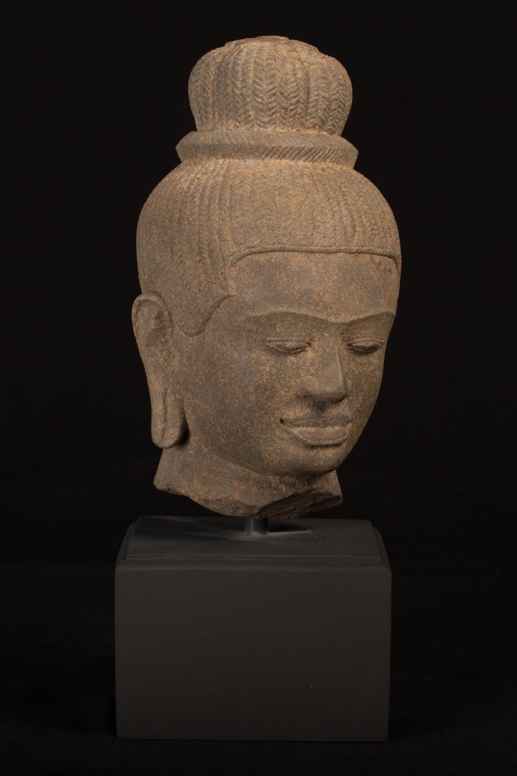 17th-18thth Century Indian Lakshmi / Devi Sandstone - 2