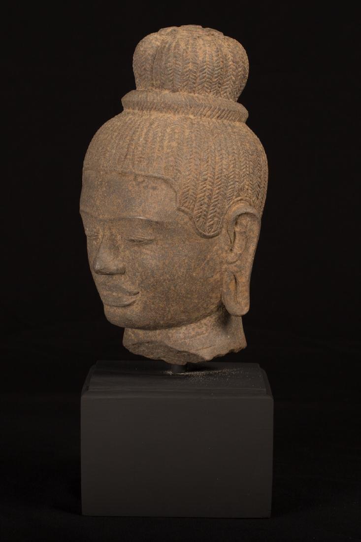 17th-18thth Century Indian Lakshmi / Devi Sandstone - 3