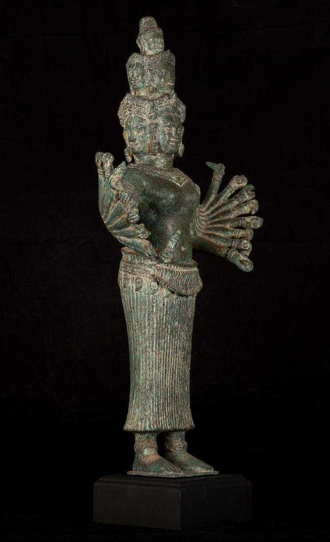 19th Century Standing Hevajra Statue
