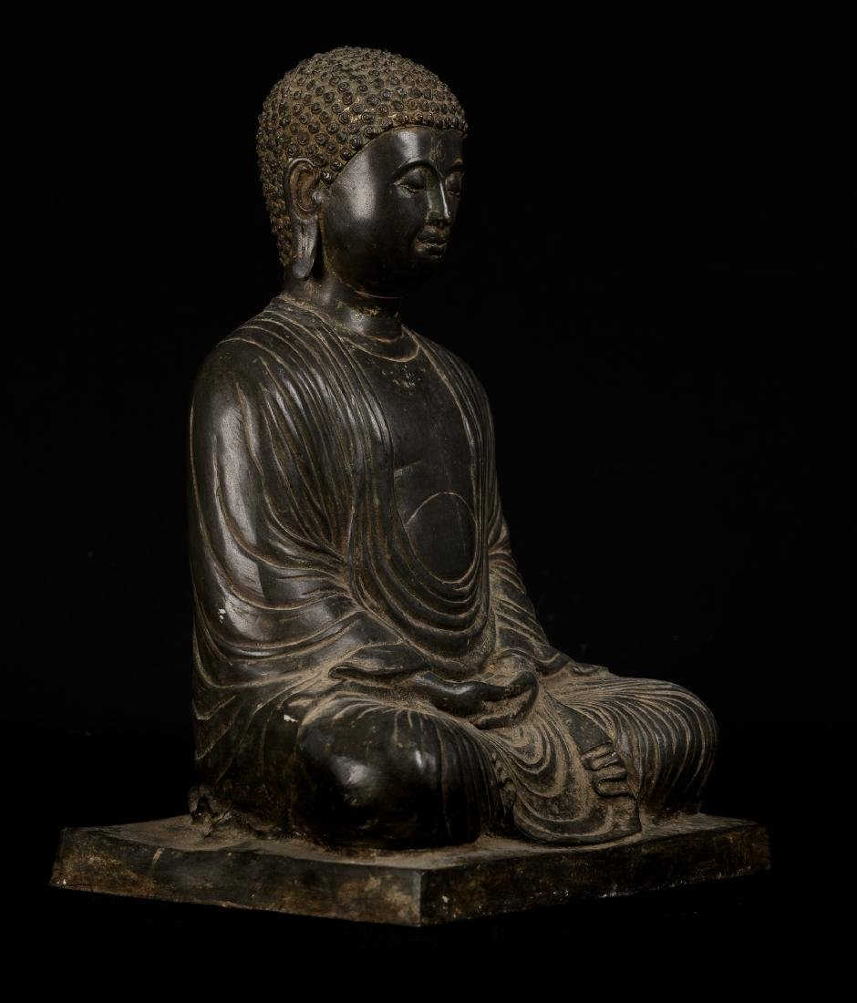 18th Century Japanese Meditation Buddha