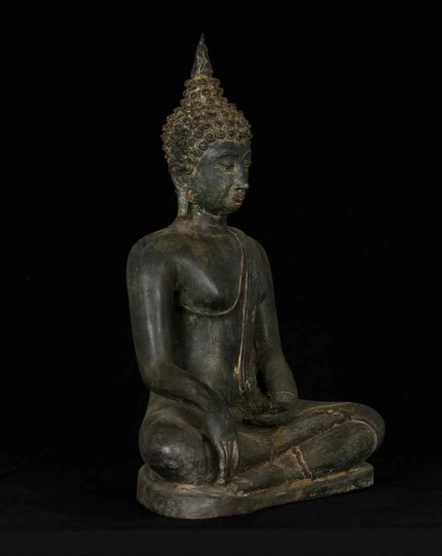19th Century Sukhothai Thai Enlightenment Buddha