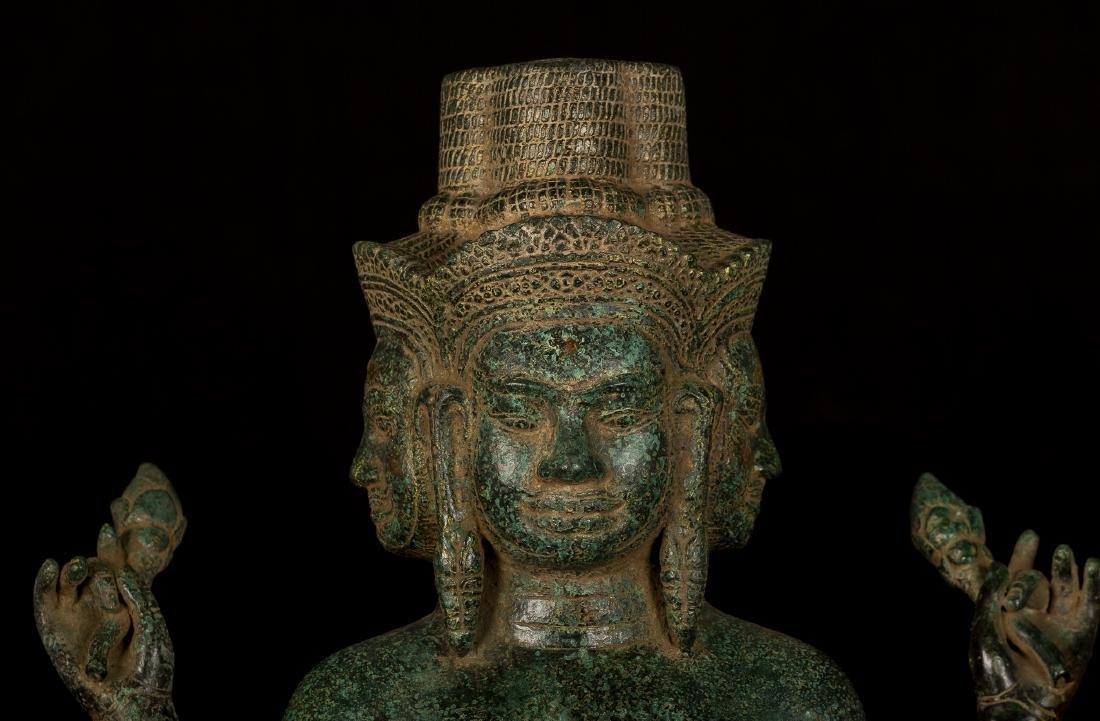 19th Century Khmer Brahma - Hindu God of Creation