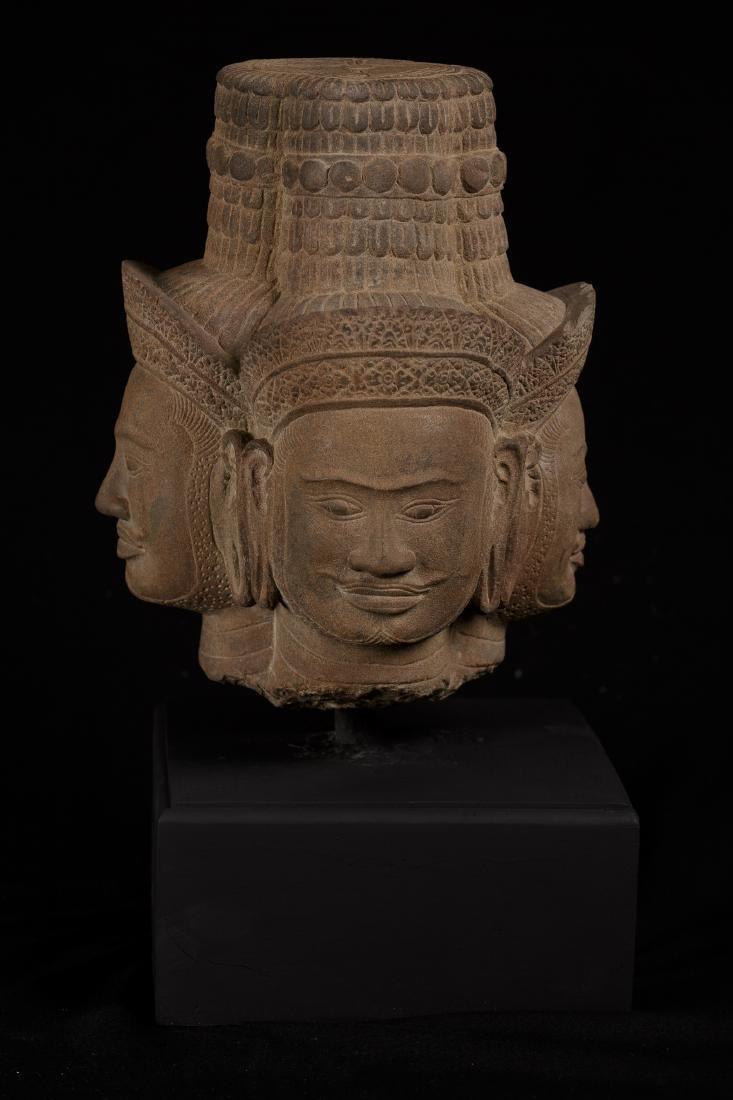18th Century Indian Style Stone Brahma