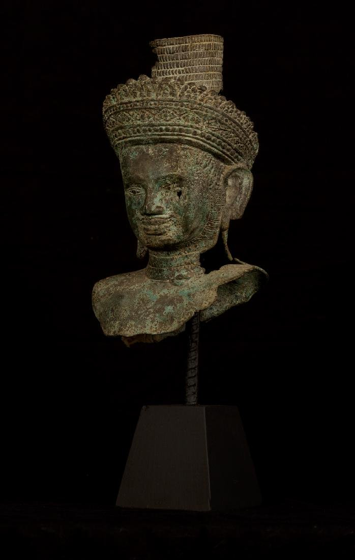 18th Century Vishnu Head - Protector & Preserver