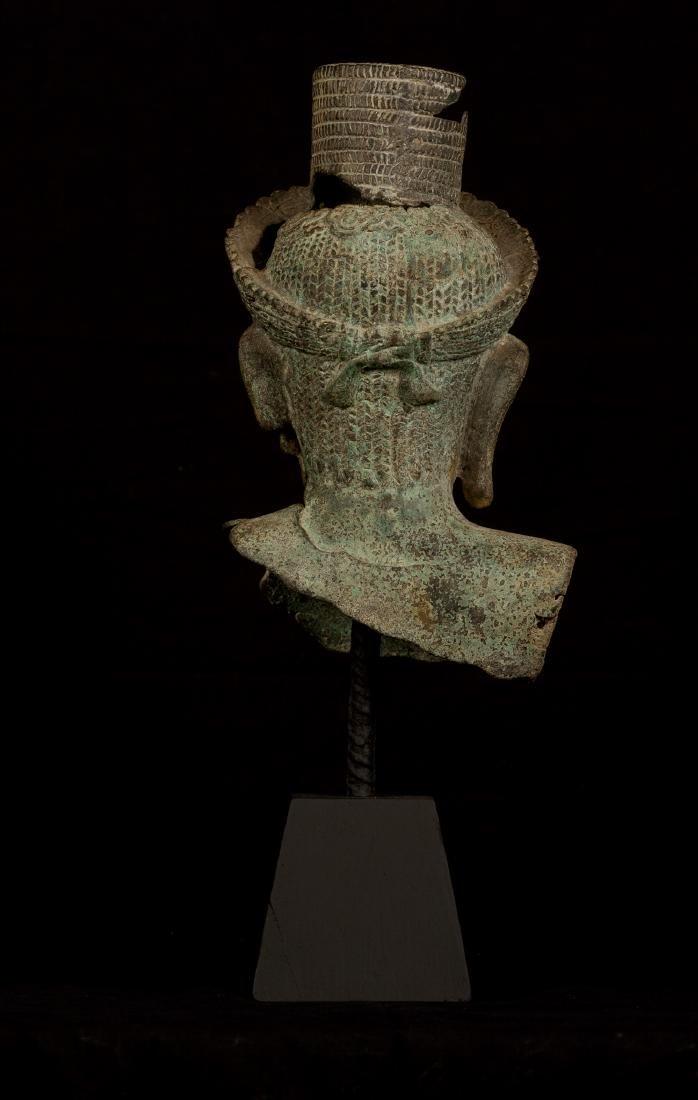 18th Century Vishnu Head - Protector & Preserver - 2