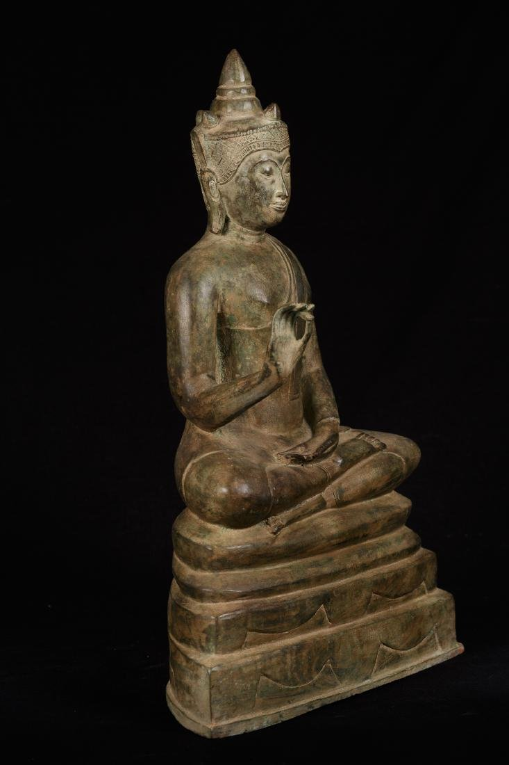 19th Century Ayutthaya Style Thai Teaching Buddha