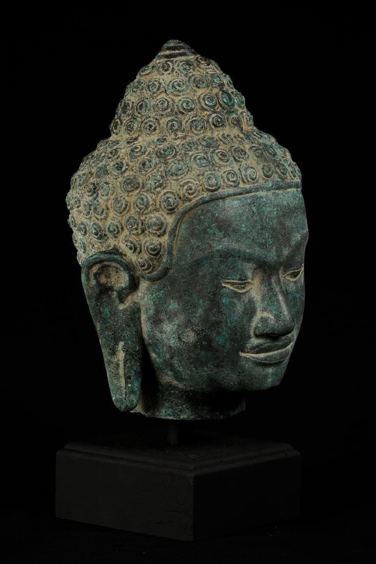 19th Century Thai Style Buddha Head
