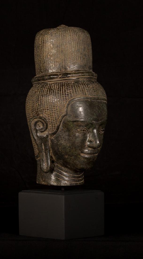 19th Century Indian Vishnu Head