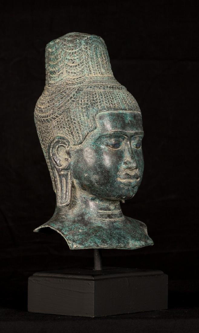19th Century Vishnu Torso Statue - Protector &