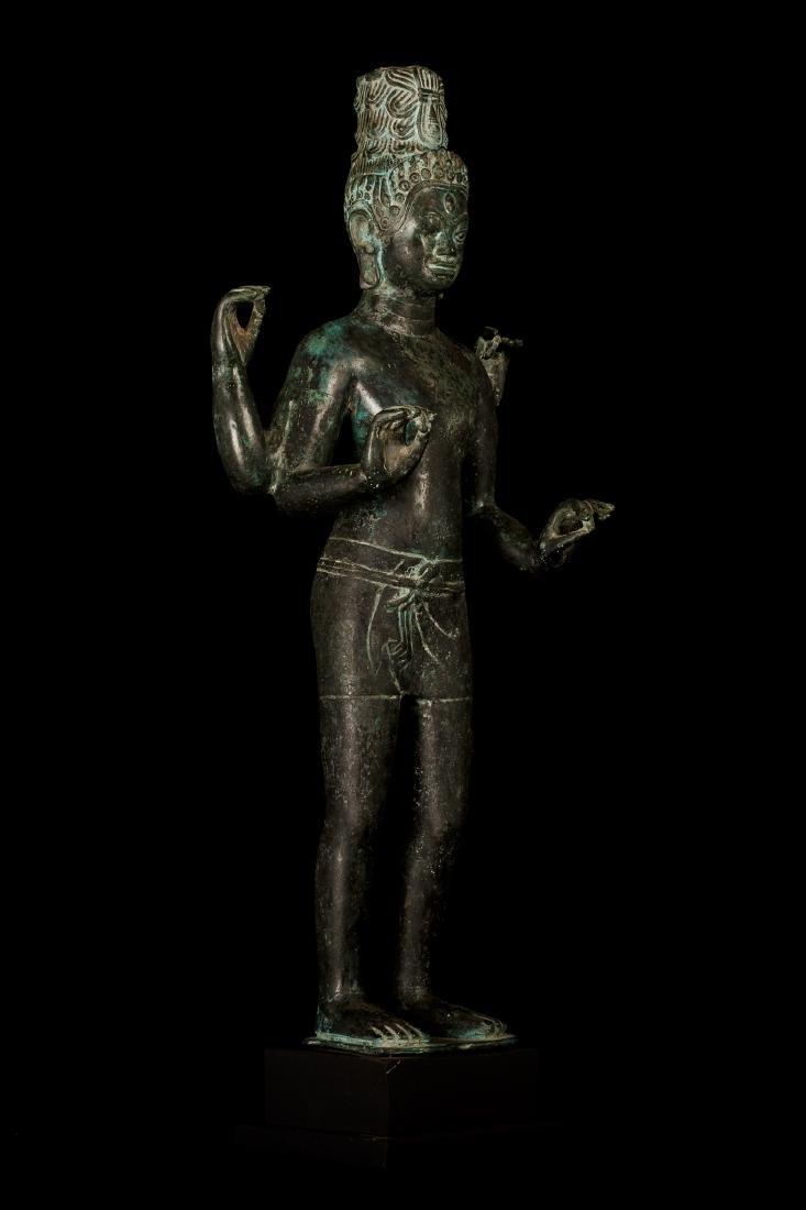 18th Century Vishnu Statue - Protector & Preserver