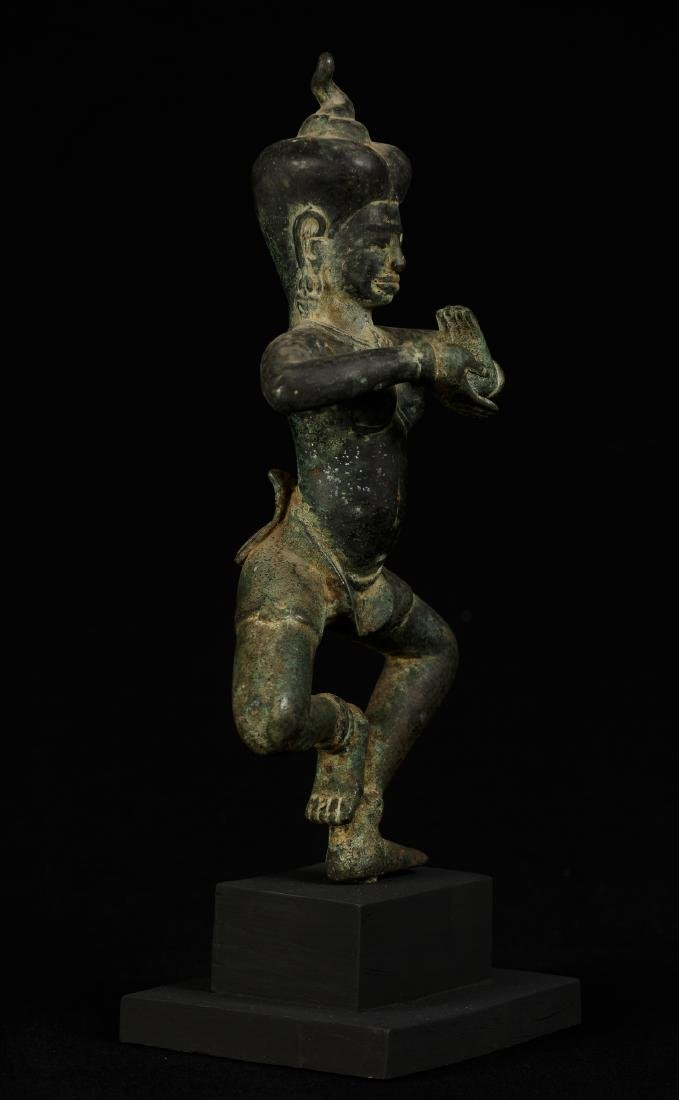 18th Century Khmer Dancing Apsara or Angel