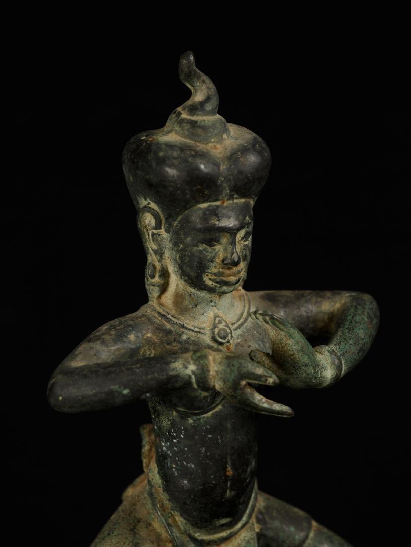 18th Century Khmer Dancing Apsara or Angel - 4