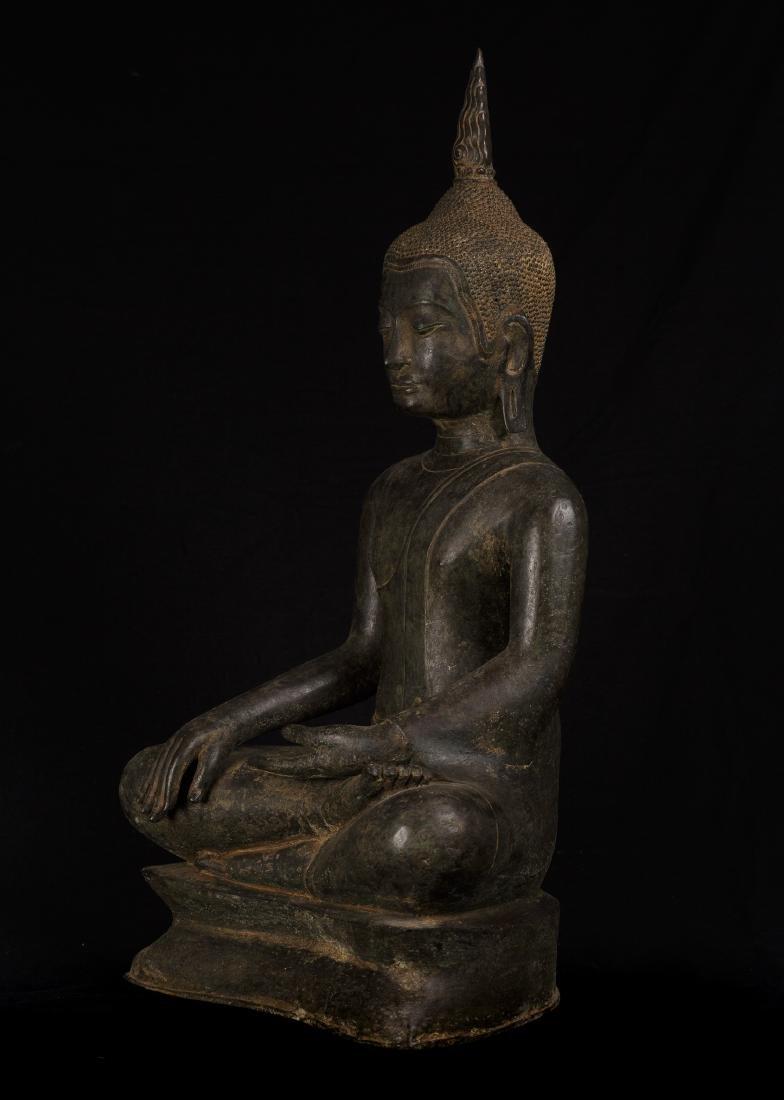 18th Century Sukhothai Thai Enlightenment Buddha - 2