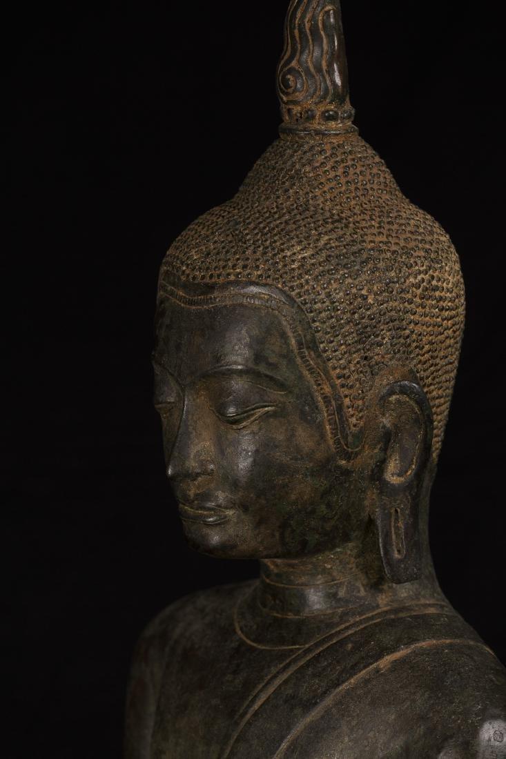18th Century Sukhothai Thai Enlightenment Buddha - 4
