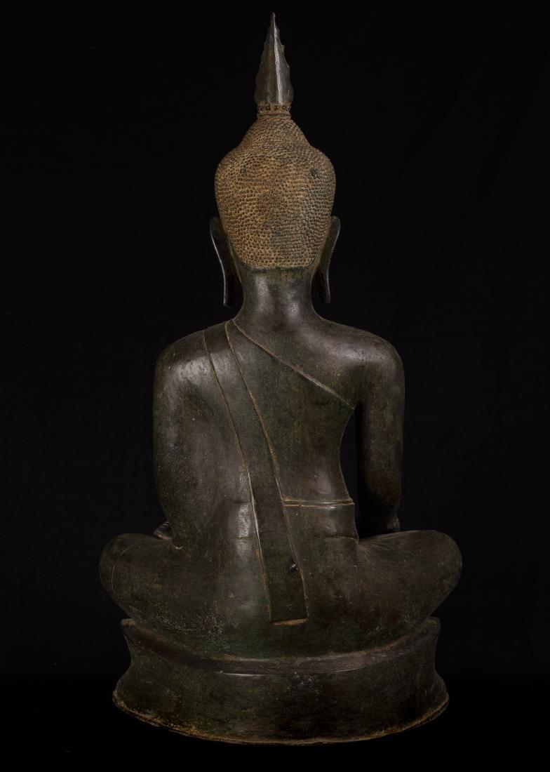 18th Century Sukhothai Thai Enlightenment Buddha - 7