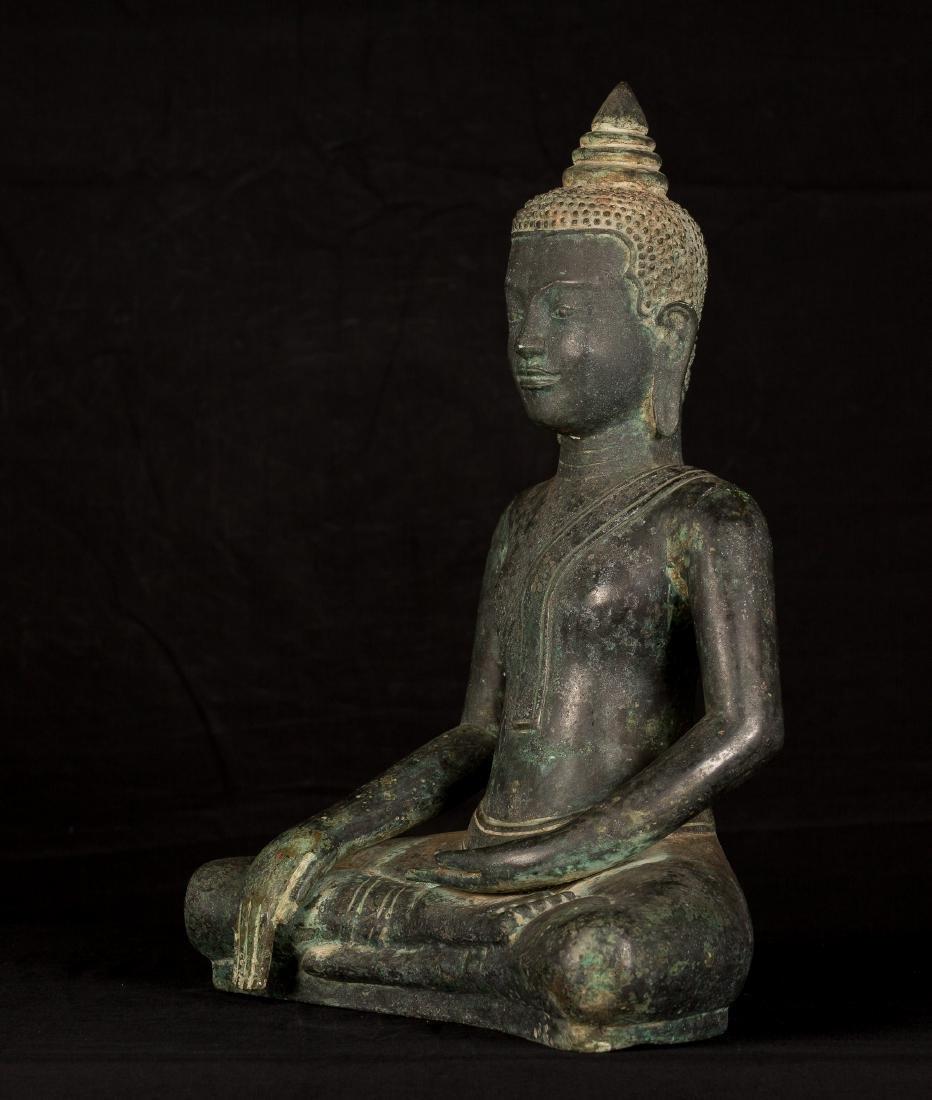 18th Century Khmer Enlightenment Buddha - 2