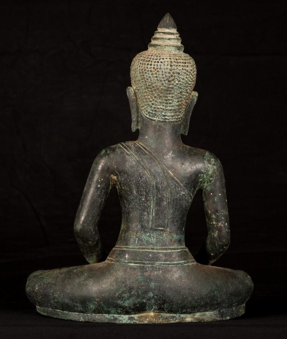 18th Century Khmer Enlightenment Buddha - 3