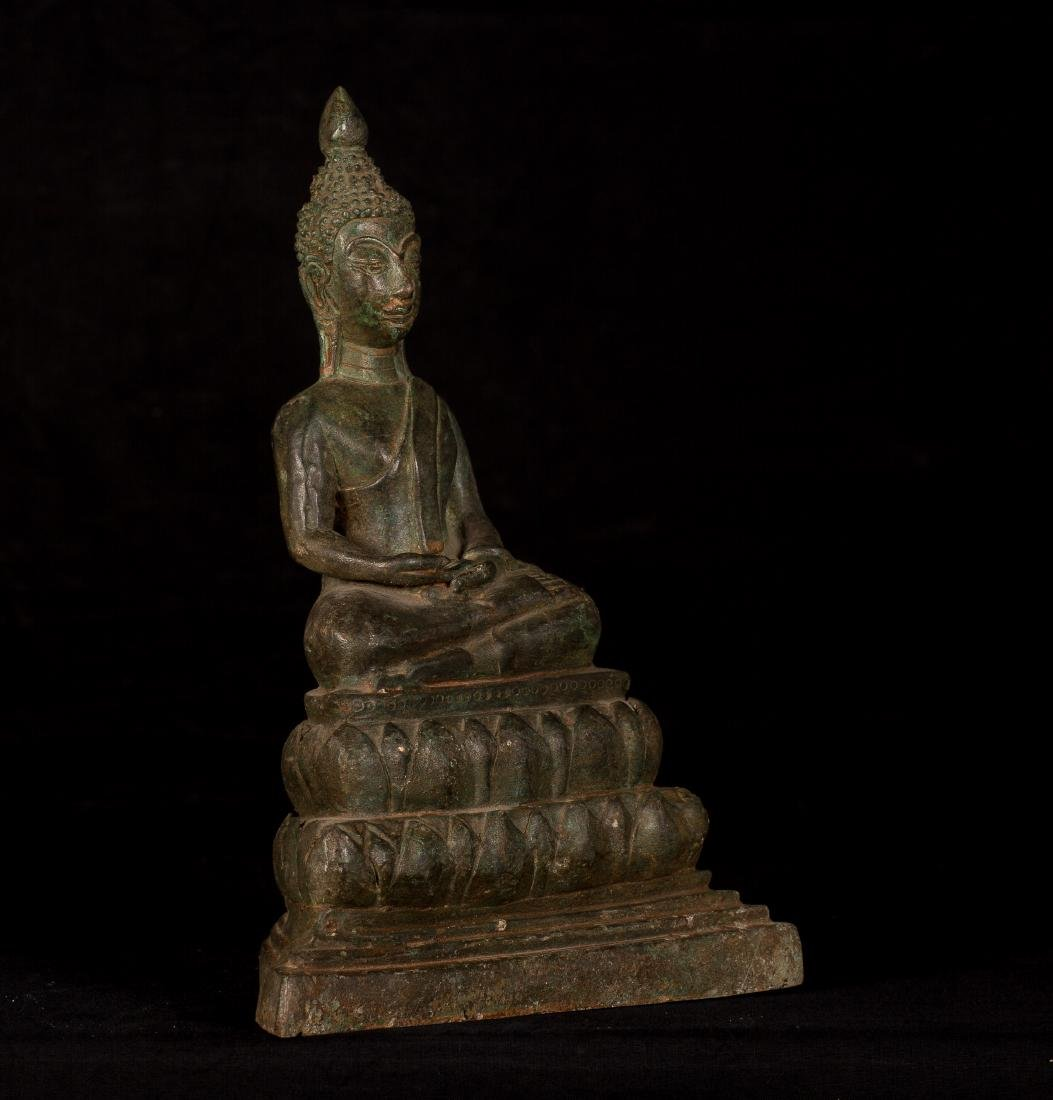 19th Century Laos Meditation Buddha