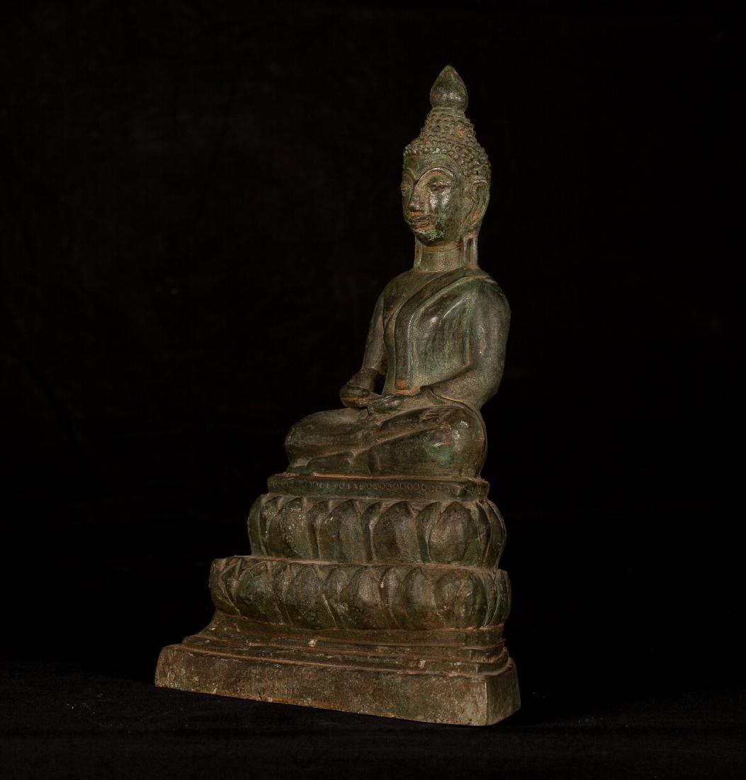 19th Century Laos Meditation Buddha - 2
