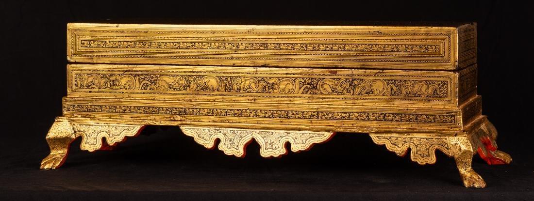 19th Century Burmese Kamavaca Shwe Zawa Manuscript - 4