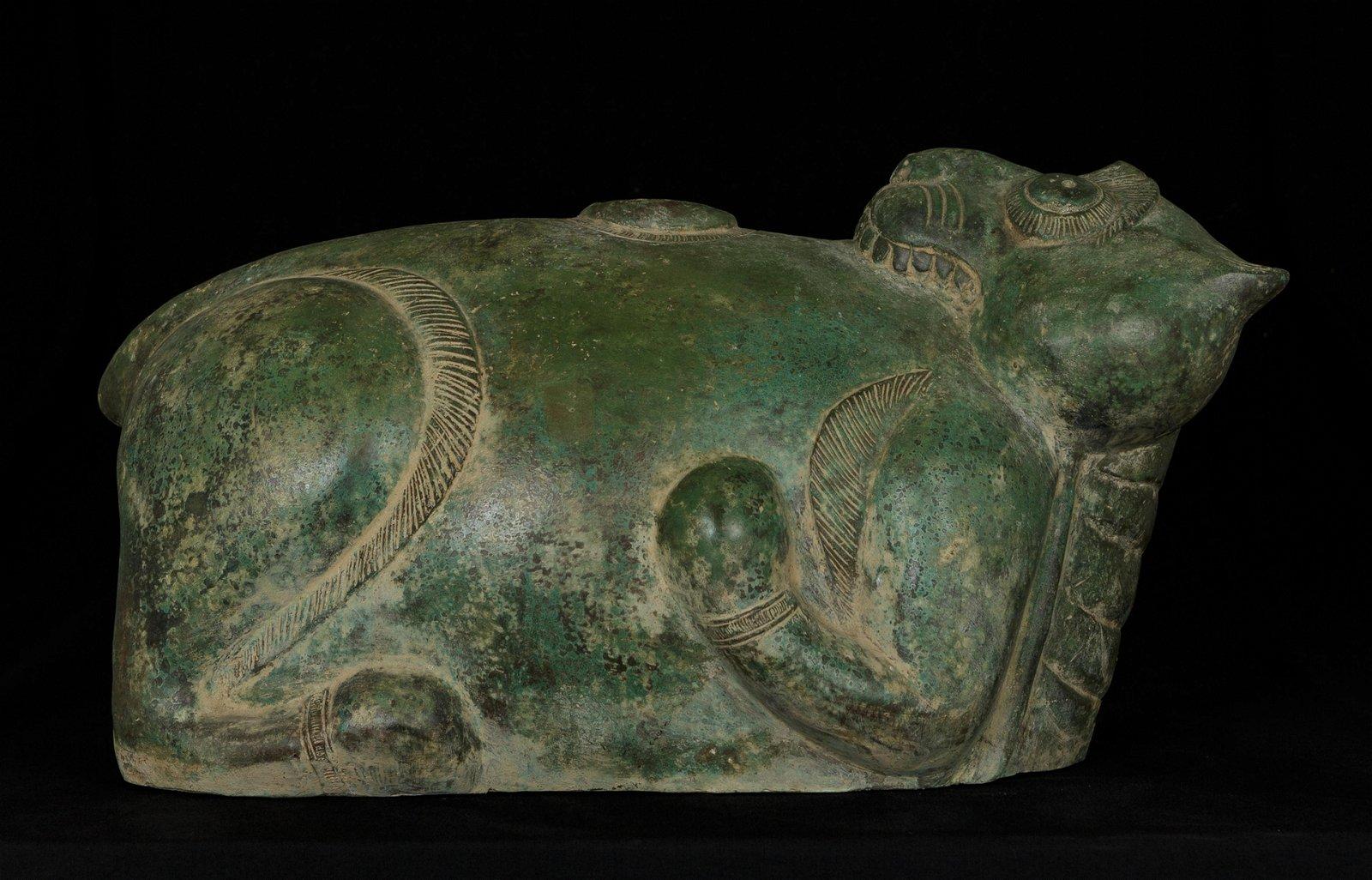 18th Century Indian Tiger Money Box
