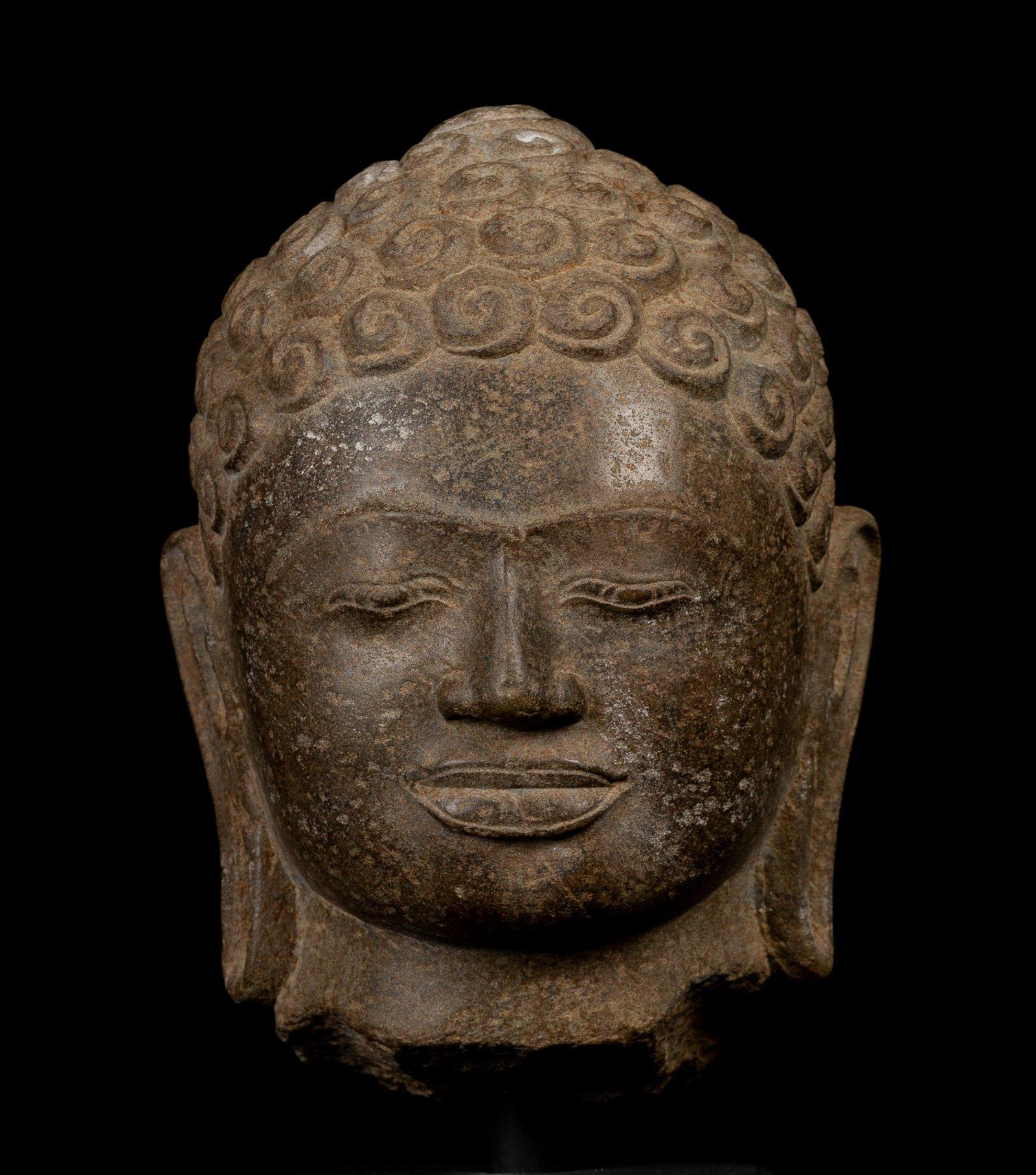 18th Century Thai Buddha Head