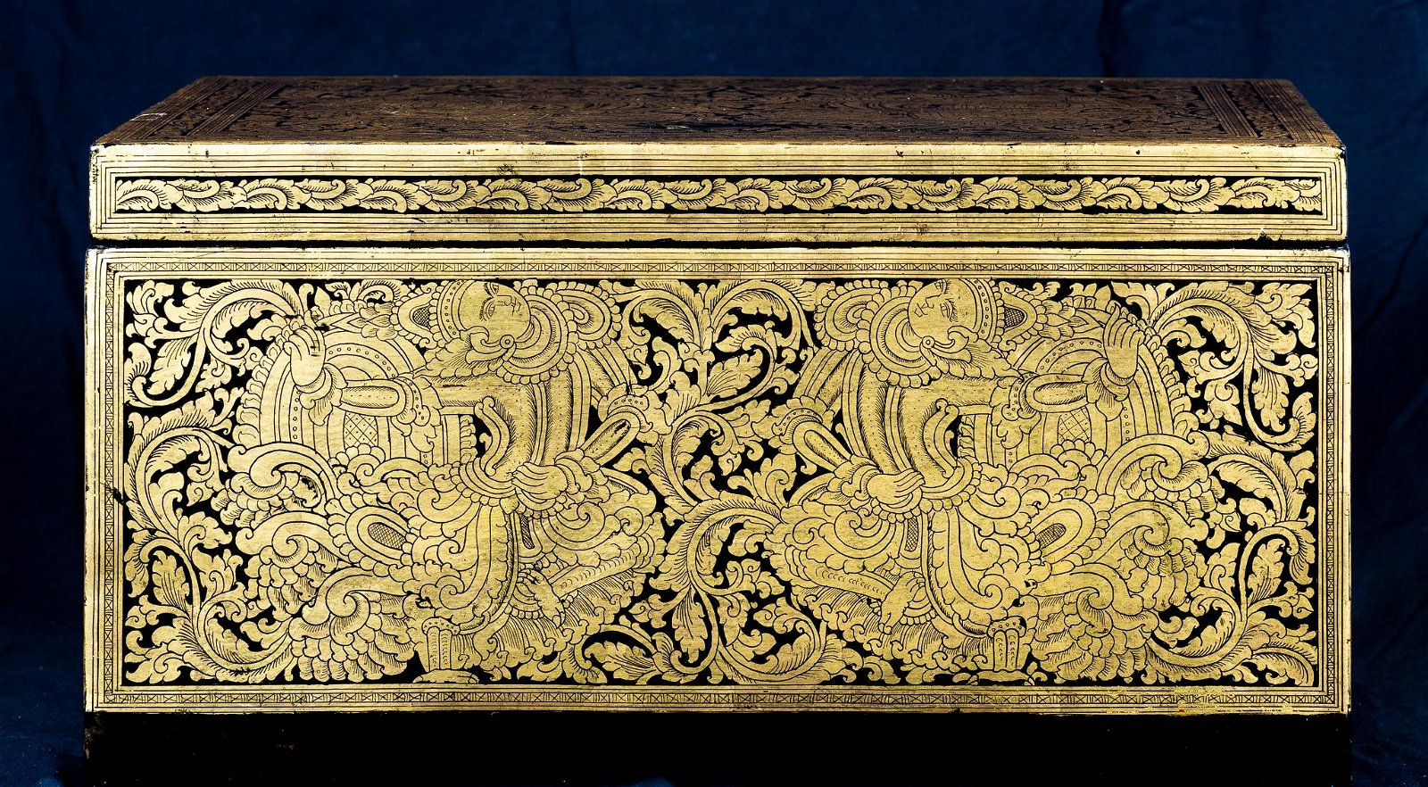 19th Century Burmese Sadaik or Lacquer Manuscript Box
