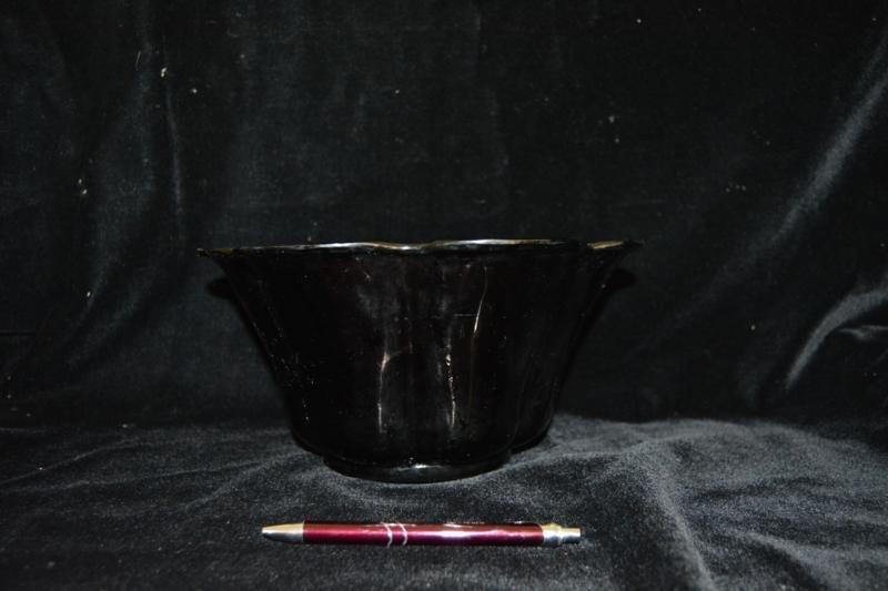 Amethyst Glass Bowl