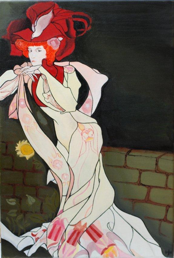 Art Nouveau Lady (2013) - Roman Sedlak
