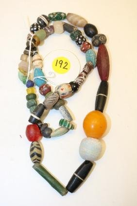 assorted trade beads