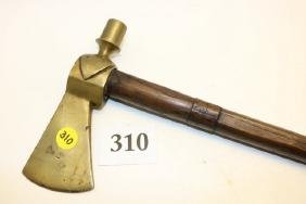 brass head pipe tomahawk