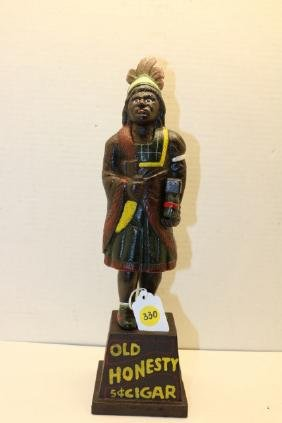 Cigar Store Indian toy bank