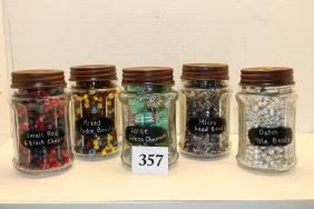 various trade beads, Seed Beads