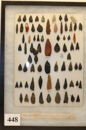 Neolithic arrowheads