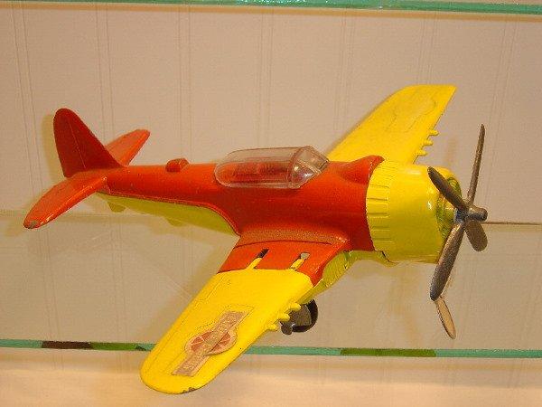 5: Metal Hubley Airplane