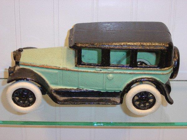 19: Cast Iron Buick Sedan