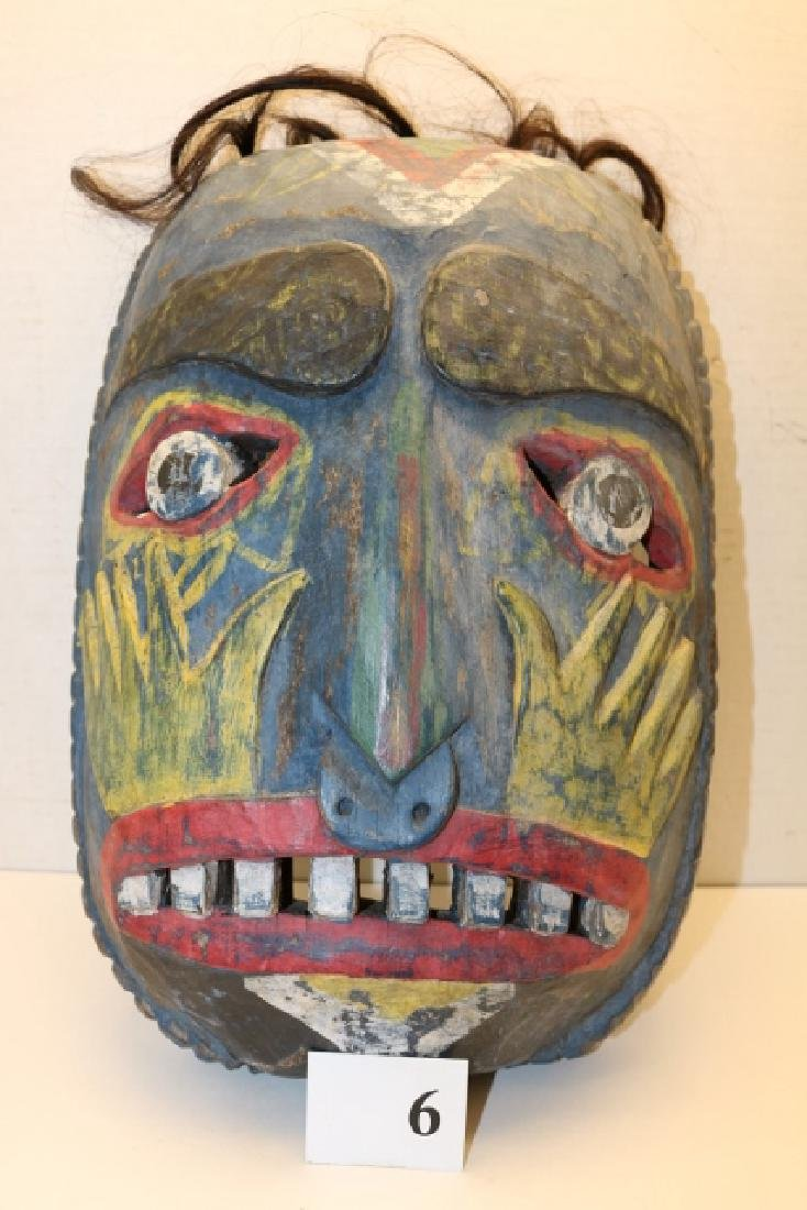 Weeping Eye North West Coast Wood Mask