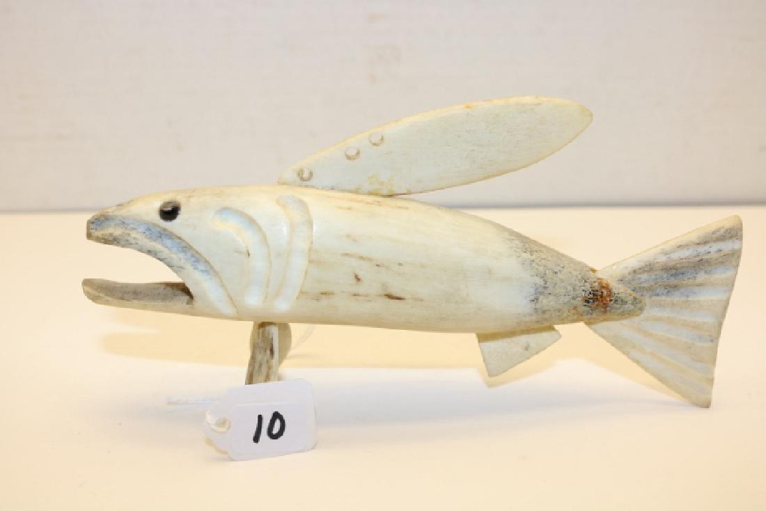 North West Coast Antler Fish Decoy