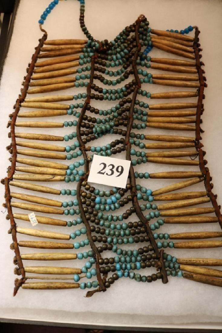 Bone Hair Pipe Beads, Breast Plate