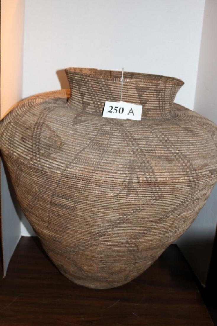 Apache Figural Basket
