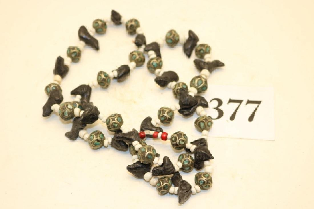 Trade Beads, Fetish Necklace