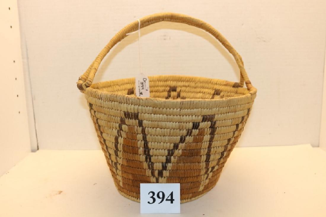 Papago Polychrome Basket
