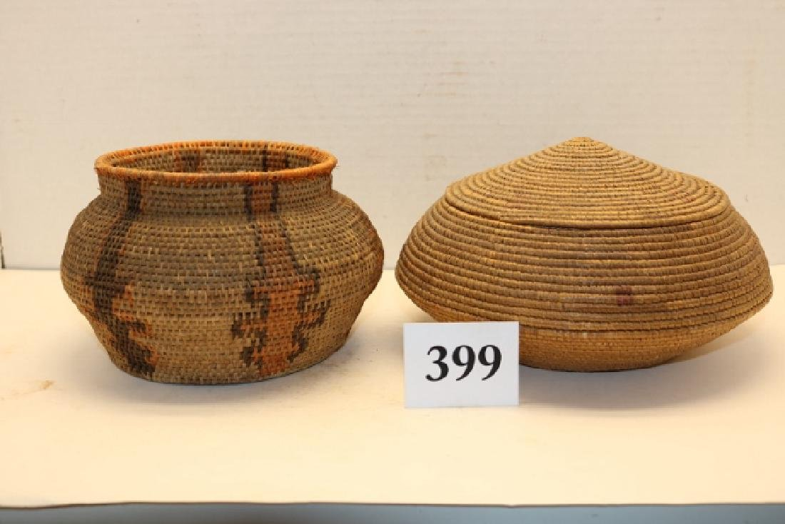 2 Alaskan Baskets