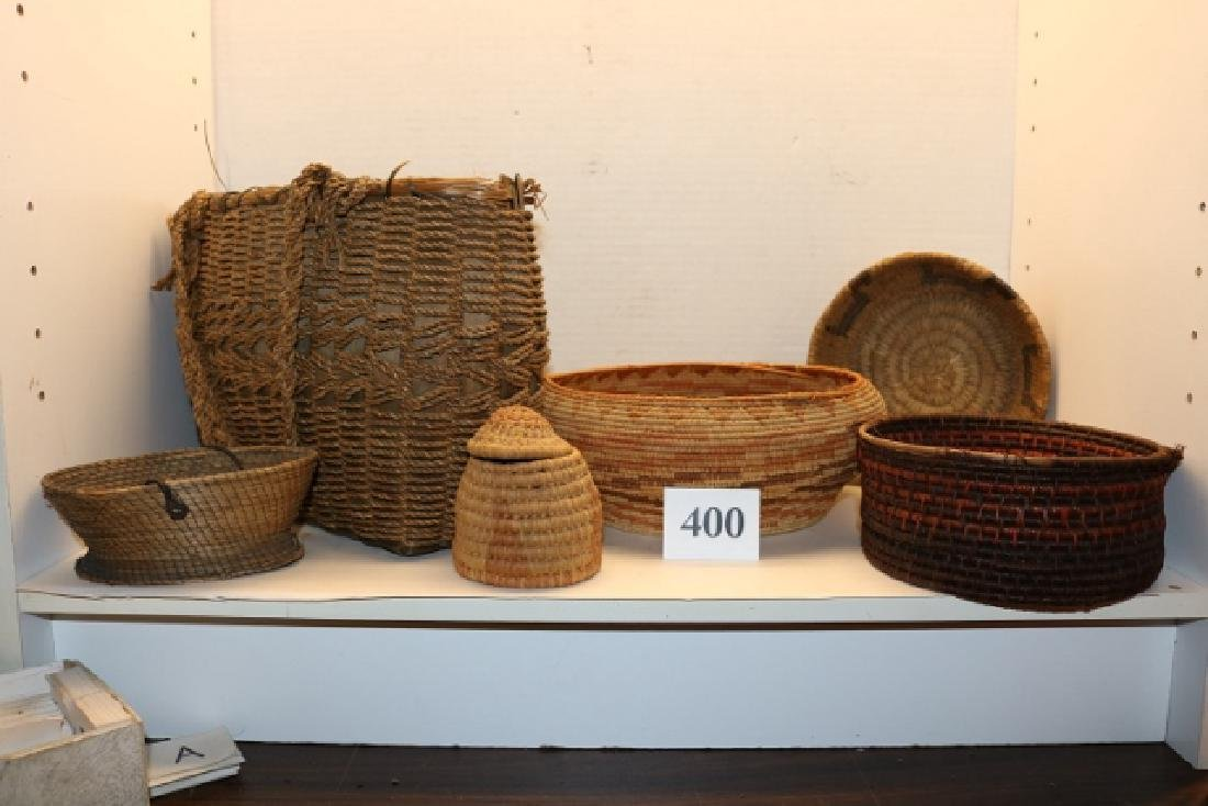 7 Assorted Damaged Baskets