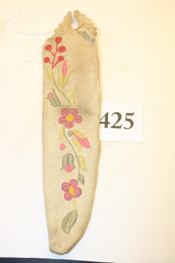 Embroidered Polychrome Athabasca Sheath