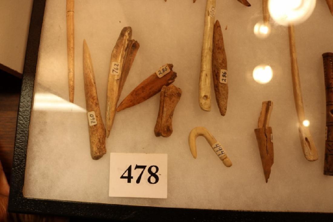 35 Assorted Bone Artifacts - 2