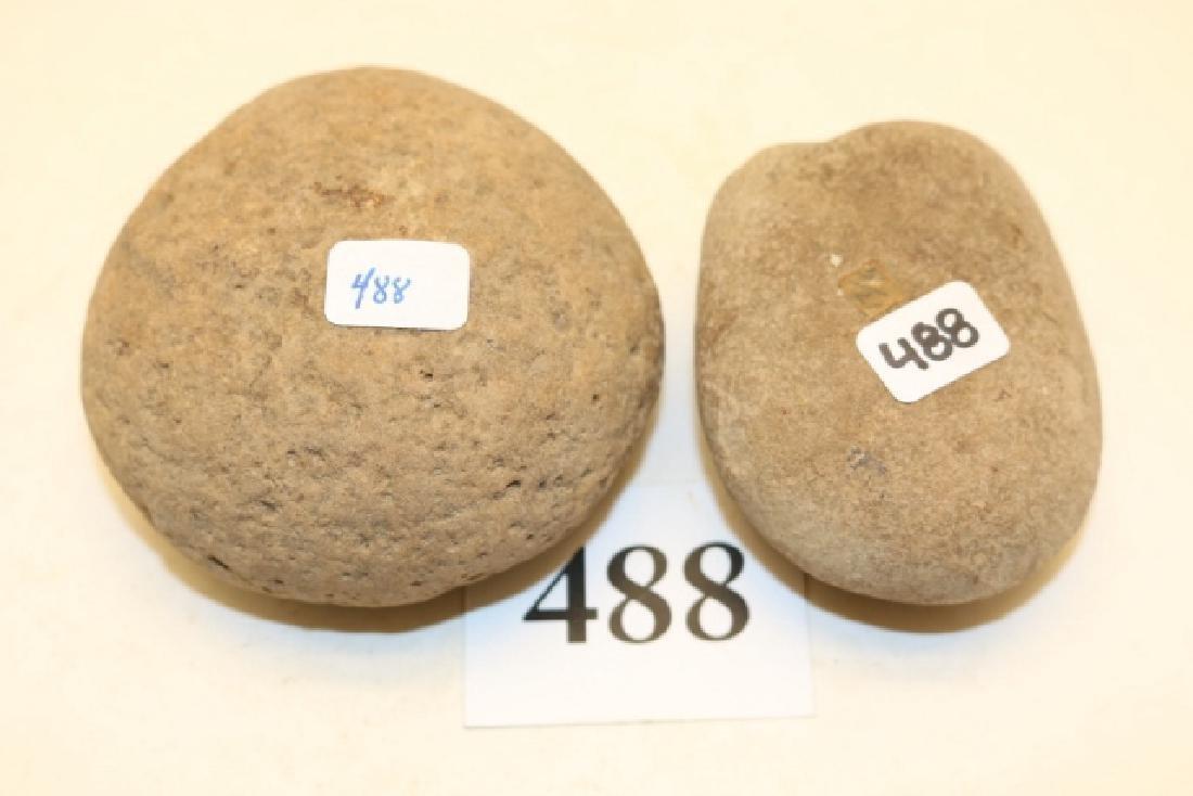 2 Stone Hammer Stones
