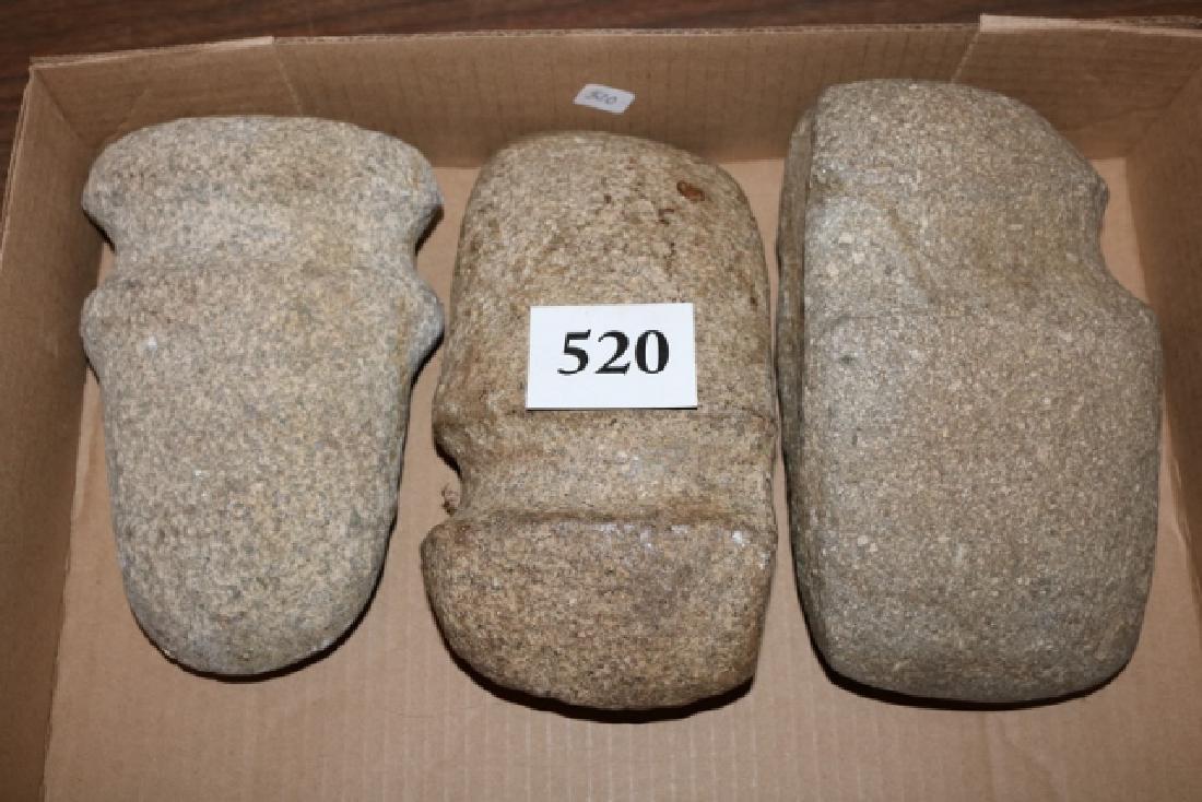 3 Stone Axes